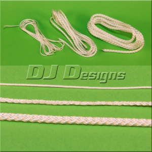 White Nylon Cord Assortment