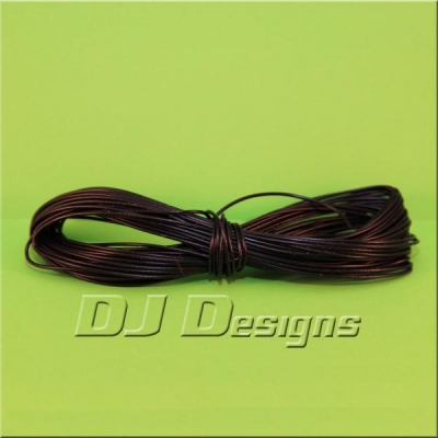 7/0.2mm Black Wire title=