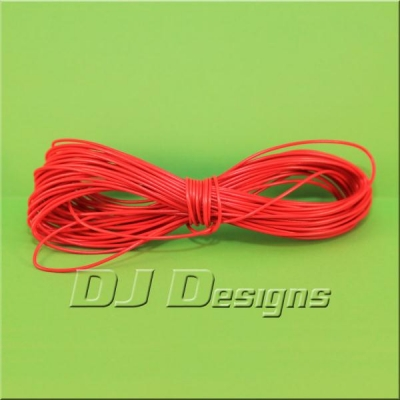 7/0.2mm Red Wire title=