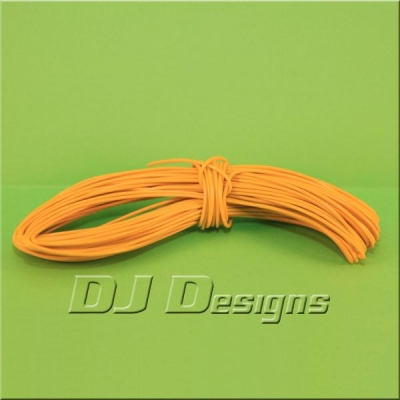 7/0.2mm Yellow Wire title=