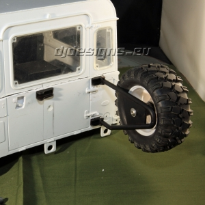 Landrover Rear Wheel Carrier Type 2