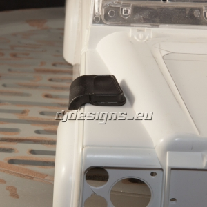 Landrover Snow Cowl wing vent cover.