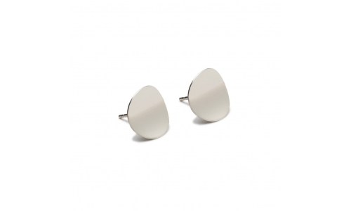 Atlantic Silver Stud Earrings