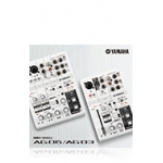 Yamaha AG03/AG06 Mixer USB Interface For Mac or PC