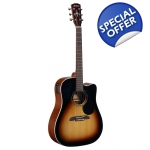 Alvarez RD26CE/RF26CE/RD26CESB Acoustic Electric Guitar with Deluxe Gig Bag