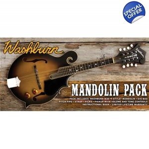 Washburn M3EK F Style Mandolin with Pickup