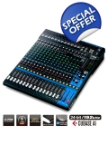 Yamaha 20 Channel Mixer MG20XU