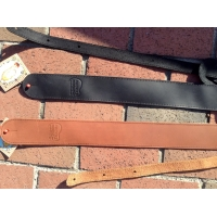 Rockys Music Leather Guitar Straps