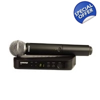 Shure Wireless Microphone Handheld BLX24/SM58