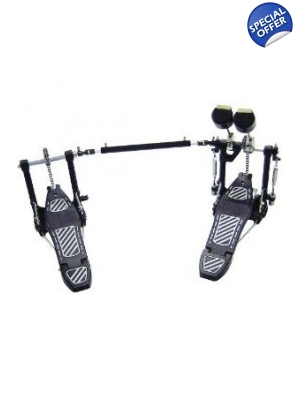 Drum Hardware Percussion Plus Double Bass Drum Pedal