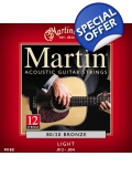 Martin 12 String 80/20 Bronze Light M190