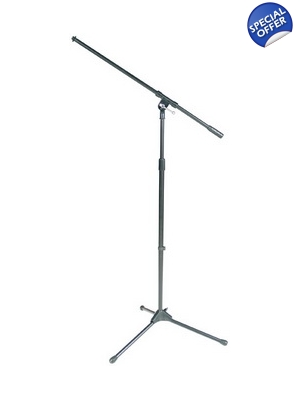Microphone Stand Tripod with Boom Black-Peavey