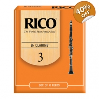 Rico Bb Clarinet Reeds Box of 10