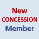 New Concess 2019 Member - aged 65 or over