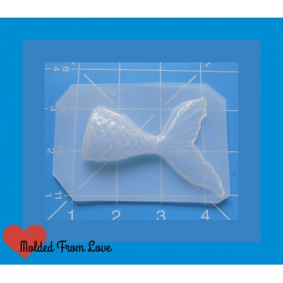 Luxurious Mermaid Tail Handmade Plastic Mold