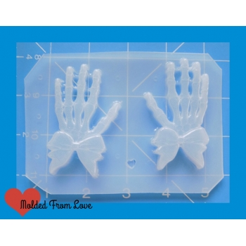 MFL Skeleton Hands with Bow ..