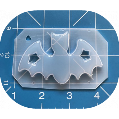 MFL Exclusive Star Bat Handmade Plastic Mold