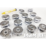 [DK] Cast Metal Wheel set for 1/16 JS-3 Tank