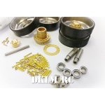 [DK] Super detail CNC milling Stainless Steel idler wheel for Tamiya Leopard 2A6 Kit 56019
