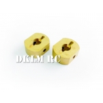 [DK] Copper Sprocket Hub for Tamiya 1/16 Leopard  2A6 Kit 56019