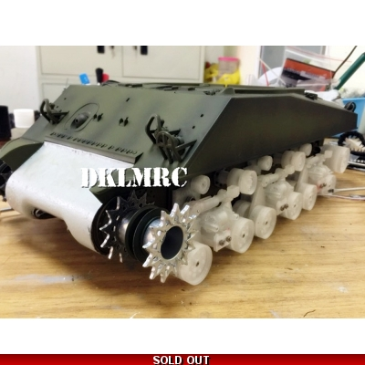 [OKMO] HVSS Conversion kit for 1/16 M4A3 Sherman