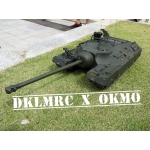 [OKMO] 1/16 US T28/95 GMC rc ready tank kit