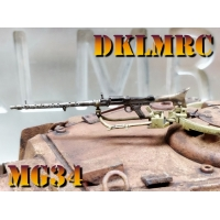 [MODELXU] HIGH DETAIL PRECISION CAST 1/16 MG34 F..