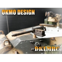 [OKMO] HIGH DETAIL 1/16 Browning .30cal M1919 Ma..