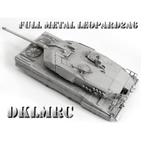 [CS] 1/16 Complete Full Metal Leopard 2A6 Upper ..