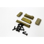 [AM] 1/16 Metal driver Window & block for Tiger I tank