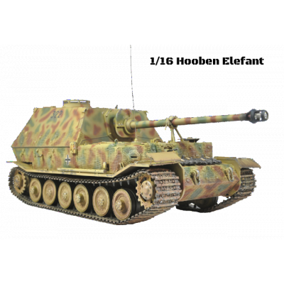 [HB] 1/16 German Tank Destroyer Elefant Jagdpanzer kit