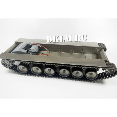 [DK] 1/16 CNC metal lower hull set for RC Challenger 2