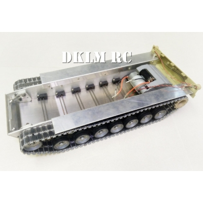 [DK] 1/16 CNC metal lower hull set for M1A2 Abrams