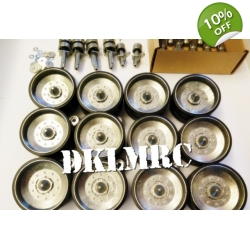 [DK] 1/16 Metal Road Wheels with Swing arms set for Challe..