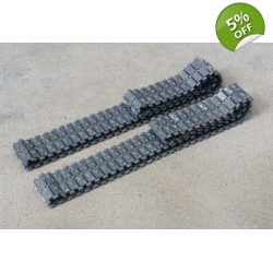 [DK] 1/16 Metal winter track for Leopard 2A6