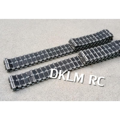 [DK] 1/16 Metal track for M1A2 & Challenger 2 with molded rubber pad