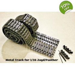 [RTDE] Early type Metal track for 1/16 RC JagdPa..