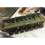 [DK] Steel support frame For Tamiya 1/16 Leopard 2A6 Kit 56019