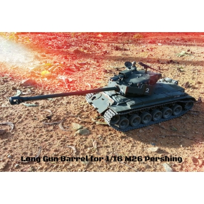 [DK] Metal Barrel for 1/16 Tamiya M26 Pershing 56015