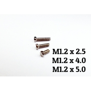 Copper made M1.2 hex bolt