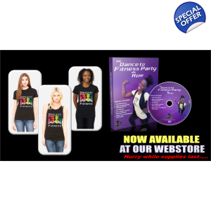 BUY 1 FITNESS DVD & 1 T-SHIRT SPECIAL