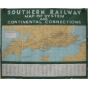 Southern Railway Map 1937