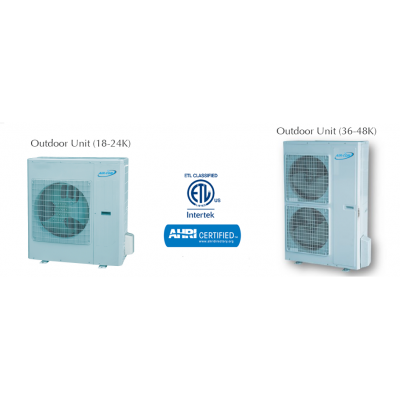 AirCon Cassete Mini Split Heat Pump 16 SEER 18,000 BTU