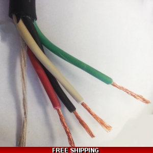 4 Lead Mini Split Connection Wire Sold by the Foot