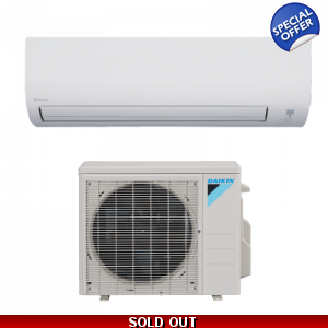 Daikin 12000 BTU 15 SEER Mini Split 15 Series Heat Pump 110 Volt