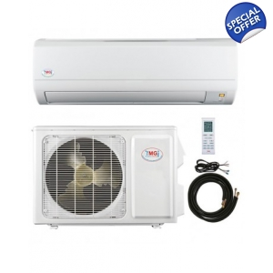 YMGI 12,000 BTU 110 Volt  Mini Split 16 Seer heat Pump Ac