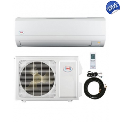 YMGI 18000 Btu Mini Split 18 Seer DC Inverter Heat Pump AC