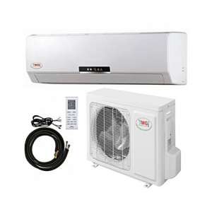 30000 BTU YMGI DUCTLESS MINI SPLIT AIR CONDITIONER HEAT PUMP 208-230V 16 SEER DC INVERTER WITH KIT