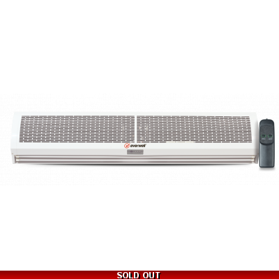 "Air Curtain 60"" 5ft - 110/220v With Remote Control"