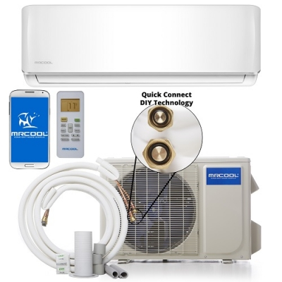 12000 BTU 17.5 SEER 115V-60Hz -MRCOOL DUCTLESS MINI SPLIT DIY
